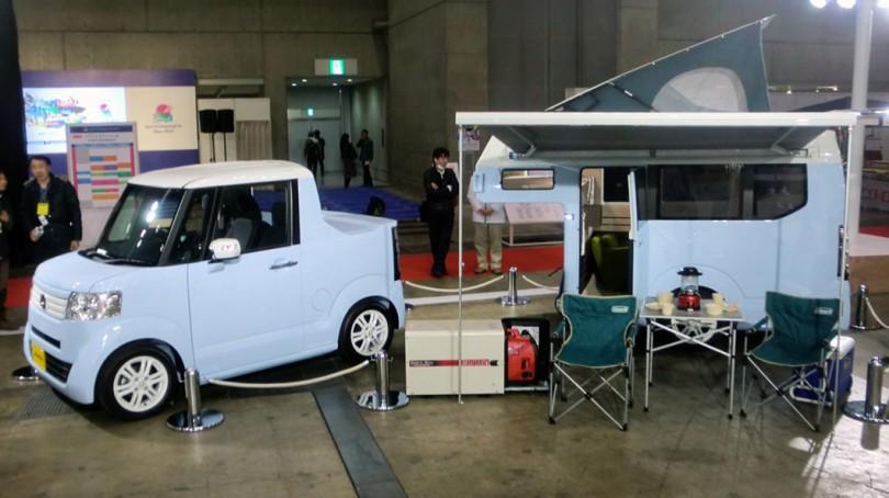 [CAR LIFE]HONDA N TRUCK 連結型 軽自動車キャンピングカー