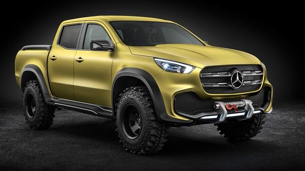 メルセデス・ベンツ 初のピックアップ・トラック 「Xクラス」のコンセプトカーを発表 ガレット・マクナムラがこれに乗る日は来るのか?