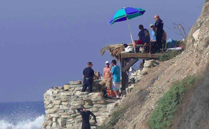 ビーチは誰のものなのか Lunada Bay Boysの小屋が政府によって取り壊される