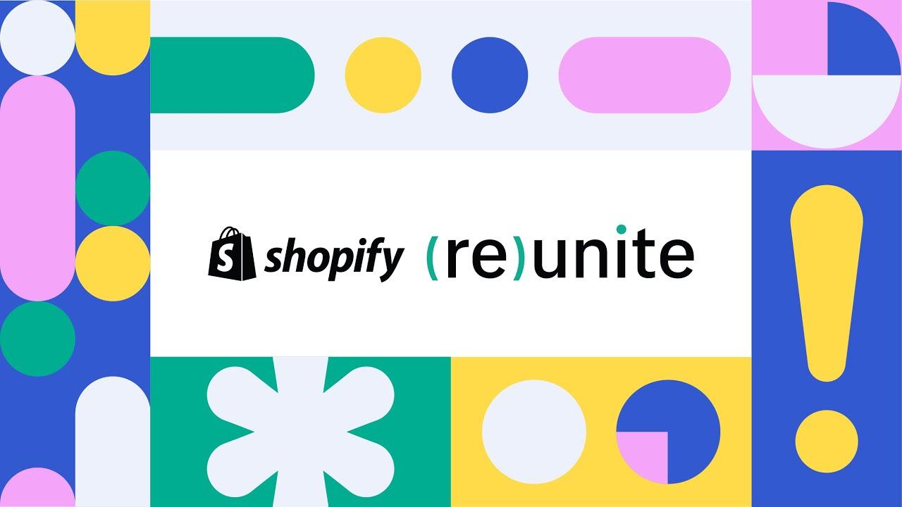 [Shopify] Shopify Reunite 2020: 新機能をご紹介!!