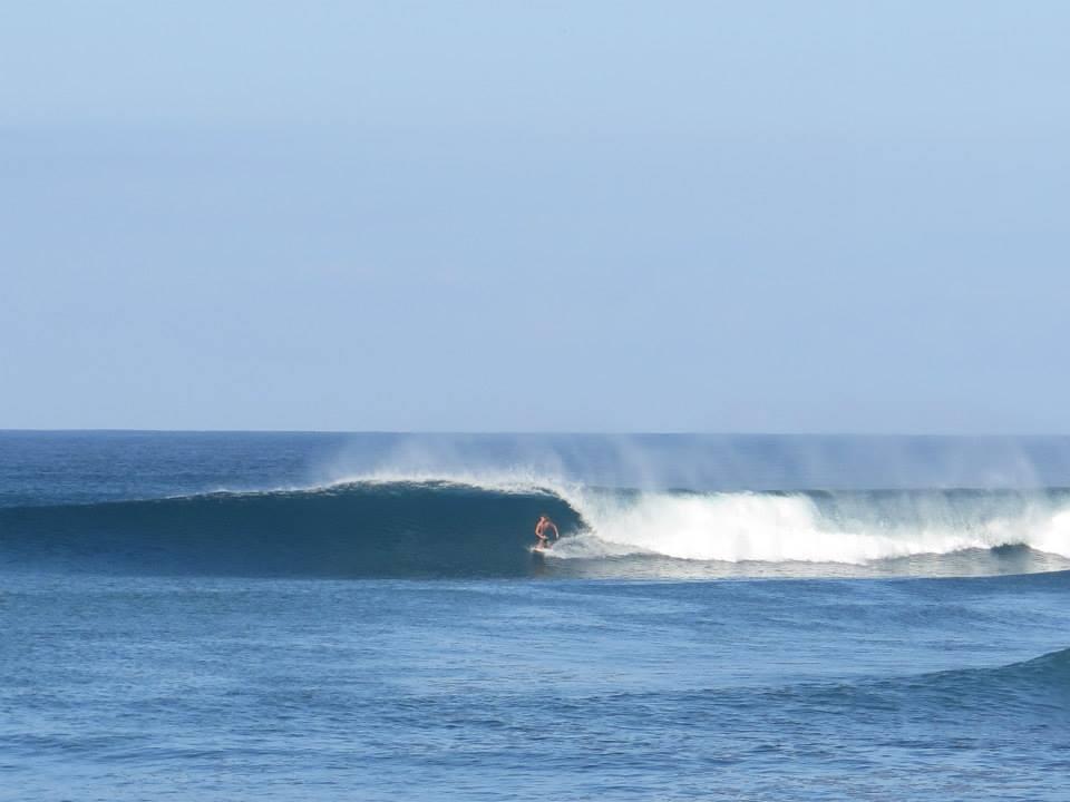 adam surf in La Ticla