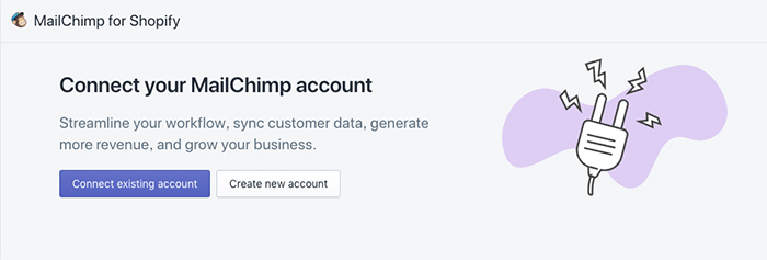 mailchimp shopify